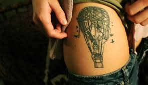 Hot Air Balloon Tattoo Meaning 16