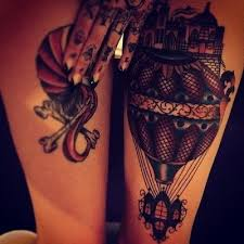 Hot Air Balloon Tattoo Meaning 19