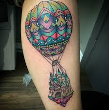 Hot Air Balloon Tattoo Meaning 2