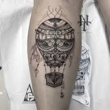Hot Air Balloon Tattoo Meaning 22