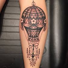 Hot Air Balloon Tattoo Meaning 25