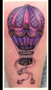 Hot Air Balloon Tattoo Meaning 26