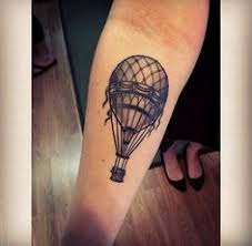 Hot Air Balloon Tattoo Meaning 27