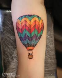 Hot Air Balloon Tattoo Meaning 29