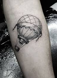 Hot Air Balloon Tattoo Meaning 3
