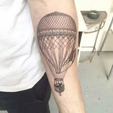 Hot Air Balloon Tattoo Meaning 30