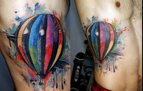 Hot Air Balloon Tattoo Meaning 38