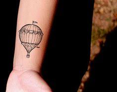 Hot Air Balloon Tattoo Meaning 39