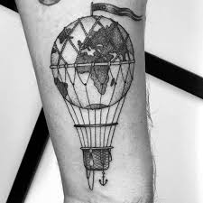 Hot Air Balloon Tattoo Meaning 4