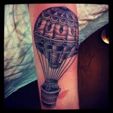 Hot Air Balloon Tattoo Meaning 40