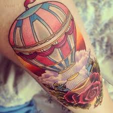 Hot Air Balloon Tattoo Meaning 41