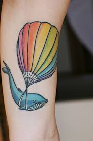 Hot Air Balloon Tattoo Meaning 43