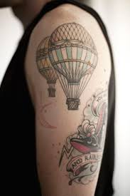 Hot Air Balloon Tattoo Meaning 47