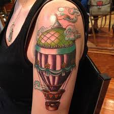 Hot Air Balloon Tattoo Meaning 48