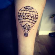 Hot Air Balloon Tattoo Meaning 5