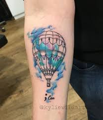 Hot Air Balloon Tattoo Meaning 6