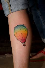 Hot Air Balloon Tattoo Meaning 7