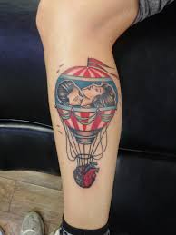 Hot Air Balloon Tattoo Meaning 9