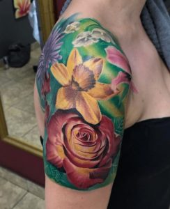Huntington Beach Tattoo Artist Mike Spazbo 2