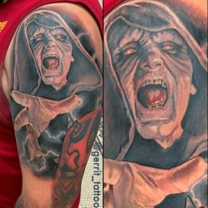 Portrait Tattoo Artist 10