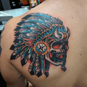 American Traditional Tattoo Artist 12