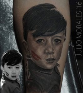 Portrait Tattoo Artist 6