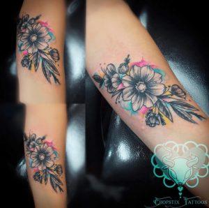 Las Vegas Tattoo Artist Jasmine Lizares - Parrish 1