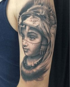 Portrait Tattoo Artist 43