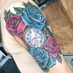 Best Floral Tattoo Artist 48
