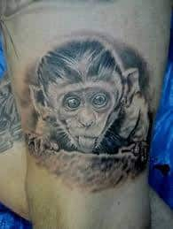 Monkey Tattoo Meaning 11