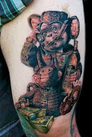 Monkey Tattoo Meaning 20