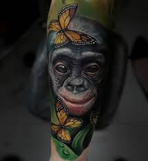 Monkey Tattoo Meaning 23