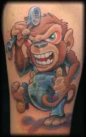 Monkey Tattoo Meaning 29