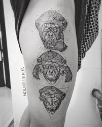 Monkey Tattoo Meaning 3