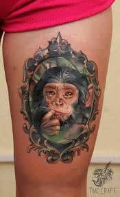 Monkey Tattoo Meaning 31