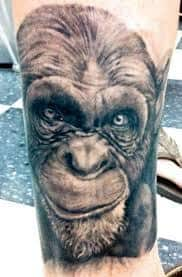 Monkey Tattoo Meaning 40