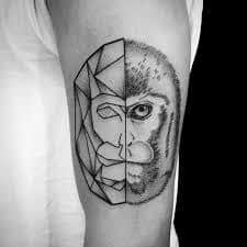 Monkey Tattoo Meaning 41
