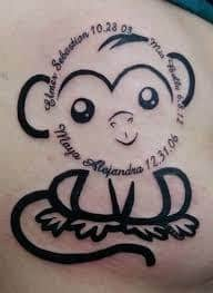 Monkey Tattoo Meaning 6