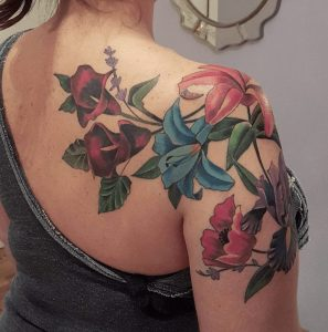 Best Floral Tattoo Artist 18