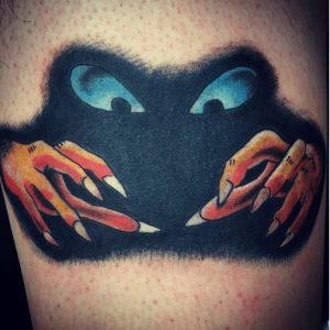 NYC Tattoo Artist Fernando Lions 2