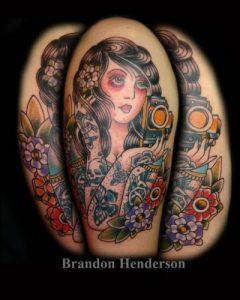 Nashville Tattoo Artist Brandon Henderson 1