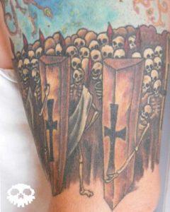 New Jersey Tattoo Artist Lou Morgue 1