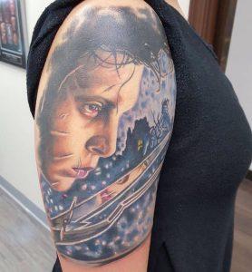 Norfolk Tattoo Artist Brett Spickard 3