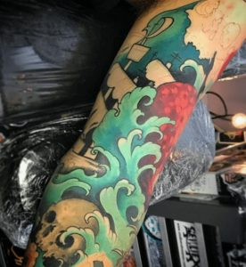 Norfolk Virginia Tattoo Artist 6