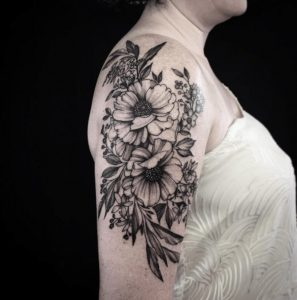 Best Floral Tattoo Artist 45