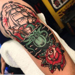 Oakland California Tattoo Artist 30