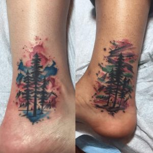 Watercolor Tattoo Artist 21