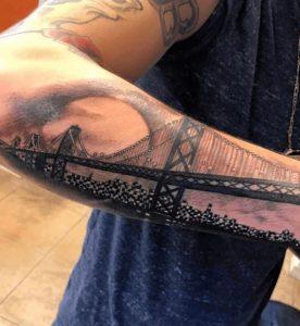 Oakland California Tattoo Artist 39