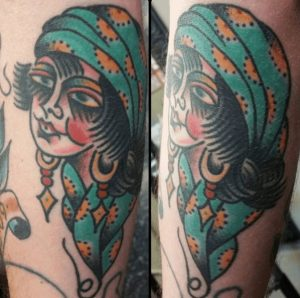 American Traditional Tattoo Artist 4