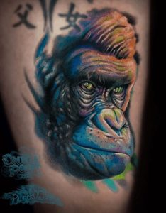 Portrait Tattoo Artist 4